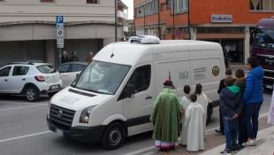 Benedizione furgone La Blave 2016